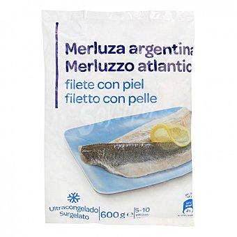 Filete de merluza con piel 600 G 600 g