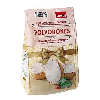 DIA Polvorones sin azúcares bolsa 250 gr