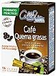Café verde con guaraná quemagrasas Caja 16 sobres Cellislim