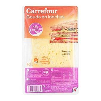 Carrefour Queso gouda loncheado 150 g