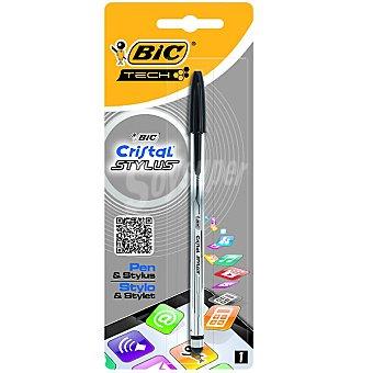 BIC Cristal Stylus Bolígrafo en color negro