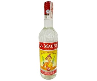 LA MAUNY Ron Blanco 50º Martinique Botella de 1 Litro