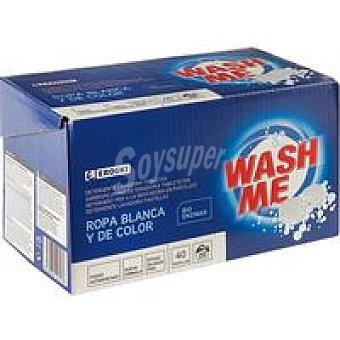 Eroski Detergente en pastillas Caja 20 dosis