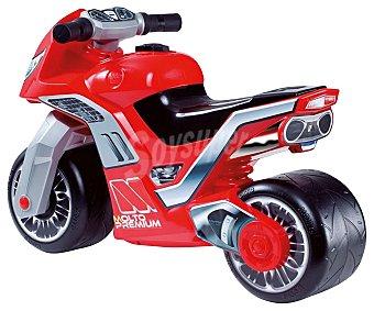 MOLTO Correpasillos Modelo Moto Cross Premium Niño de Color Rojo 1 unidad