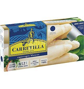 Carretilla Esparragos blancos extra 8/12 150 GRS