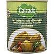 Berenjenas aliñadas Lata 420 g Conservas Calzado