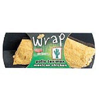 Fresquisimo Wrap de pollo tex-mex Envase 195 g