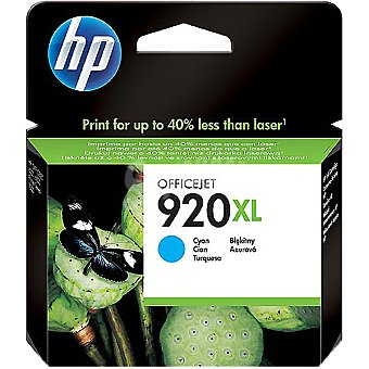 HP Nº 920 XL cartucho color cian