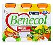 Yogur Soja 4 unidades de 70 gramos Kaiku Benecol