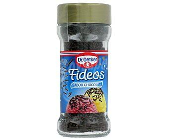 Dr. Oetker Fideos sabor chocolate Bote 45 g
