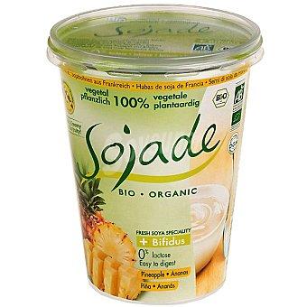 SOJADE Postre de soja + bífidus piña ecológico Envase 400 g