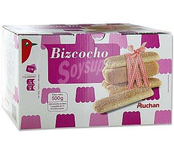 Auchan Bizcochos crujientes y esponjosos 500 gramos