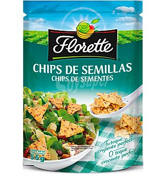 Florette Picatostes chips de semilla Bolsa 55 g