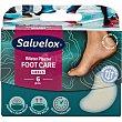 Foot Care medium apósitos protectores hidrocoloides para ampollas y rozaduras caja 6 unidades 6 unidades Salvelox