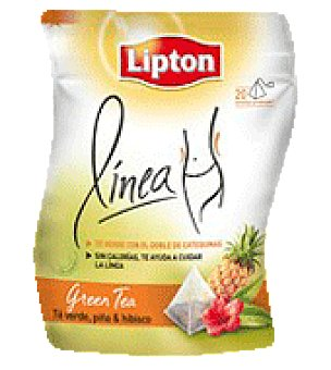 Lipton Té Lipton linea piña 20 piramides 20 ud