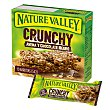 Crunchy barritas de avena 100% integral con chocolate negro Estuche 10 u x 21 g - 210 g Nature Valley