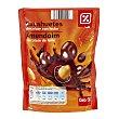 Cacahuetes recubiertos de chocolate Bolsa 250 gr DIA