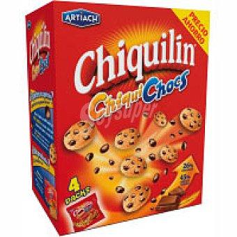 Chiquilín Artiach Galletas Chiqui Chocs Caja 140 g