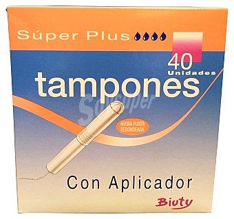 BIUTY Tampón super plus Caja de 40 unidades