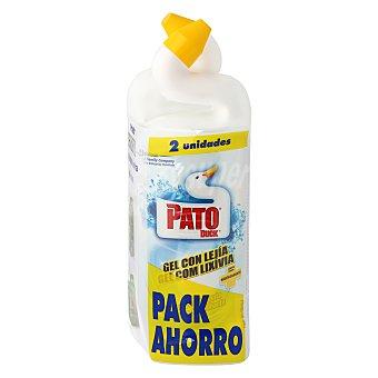 Pato Gel WC con lejía Pack 2x750 ml
