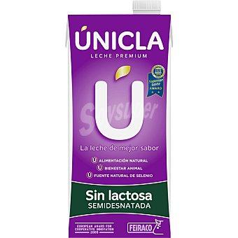 FEIRACO UNICLA Leche especial sin lactosa Envase 1 l