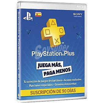 PS3 Tarjeta PSN Plus Card 90 Dias para PS3