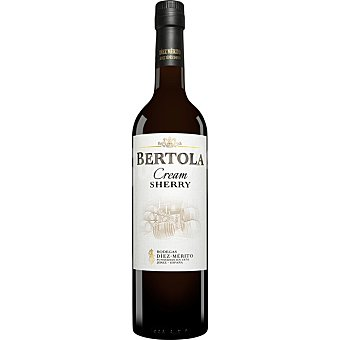 BERTOLA Vino cream Sherry botella 75 cl botella 75 cl