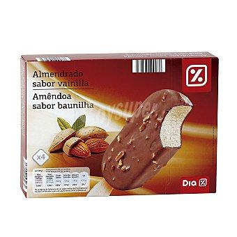 DIA Helado bombón chocolate con almendras Caja 4 x 340 g