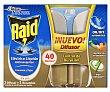 Insecticida eléctrico líquido antimosquitos 40 noches Aparato + recambio Raid