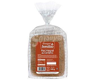 SEMILLAS Pan integral con centeno 400 gr