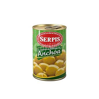 Serpis Aceitunas rellenas de anchoas Lata 130 gr