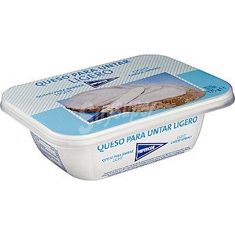 Hipercor queso para untar natural ligero tarrina 175 g