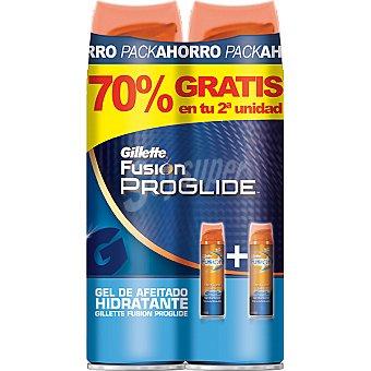 Gillette gel de afeitar hidratante (pack precio especial 2ª unidad al 70%) Pack 2 spray 200 ml