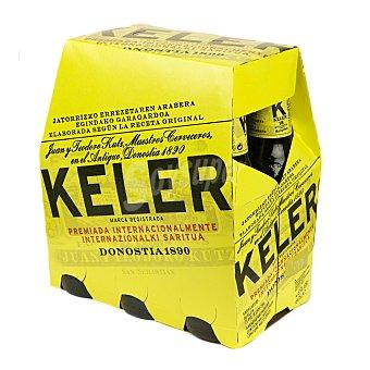 Keler Cerveza 18 6 botellines de 25 cl