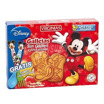 Virginias Gallletas mickey mouse sin gluten y sin lactosa Caja 125 g