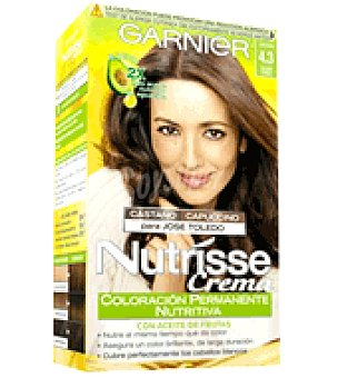 Garnier Coloración permanente Capuccino nº 4,3 Caja de 1 unidad