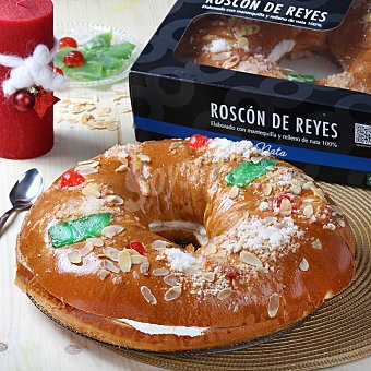 Carrefour Roscón de nata mediano 850 g