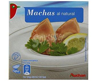 Auchan Machas al natural 63 gramos peso escurrido