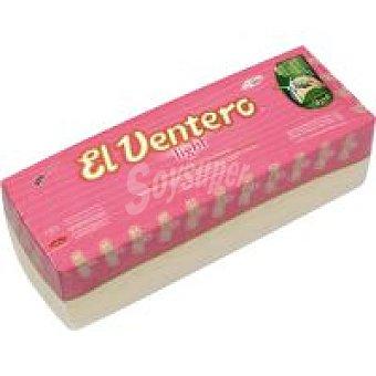 El Ventero Queso en barra tierno light  Pieza 1,0 kg