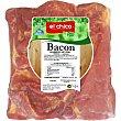 Centro de bacon ahumado 100 gramos El Chico