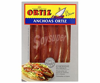 Ortiz Anchoas en aceite vegetal 40 gramos peso escurrido
