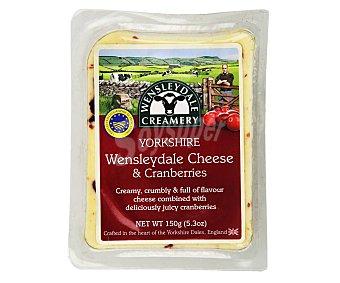 Margalet papillon Queso Wensleydale con arándanos rojos yarkshire 150 g
