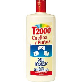 T2000 Quitamanchas cuellos y puños Botella 800 ml
