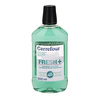 Carrefour Enjuague bucal con fluor 500 ml