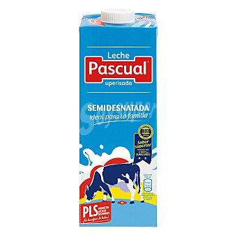 Pascual Leche Semidesnatada Brick 1 litro