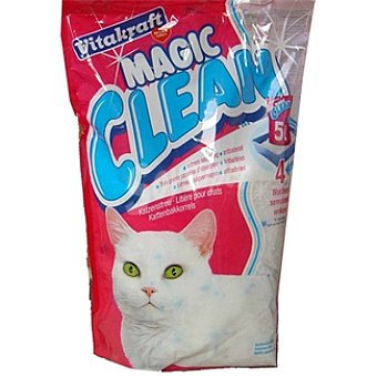 Vitakraft Perlas gel de sílice para gatos Magic Clean Bolsa 5 l