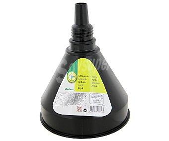 Productos Económicos Alcampo Embudo para uso en el automóvil de polipropileno de color negro 1 unidad