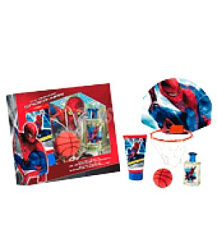 Spiderman Estuche colonia 50ml. + gel + set de baloncesto 1 ud