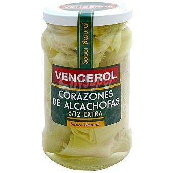 Vencerol Corazones de alcachofa extra Frasco 175 g neto escurrido