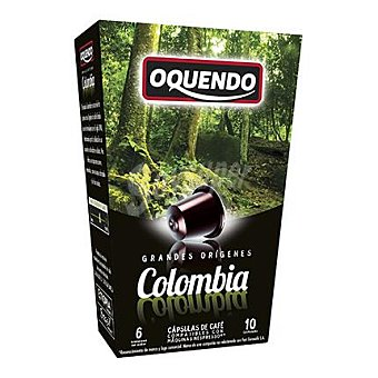 Oquendo Cápsulas de café Colombia 10 unidades